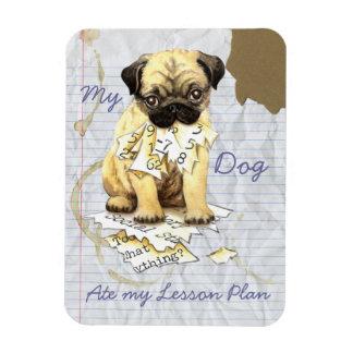 Ímã Meu Pug comeu meu plano de aula
