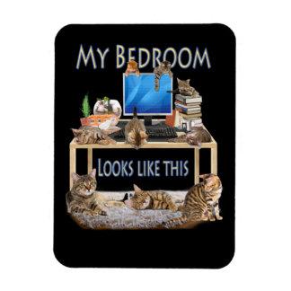 Ímã Meu quarto olha como este
