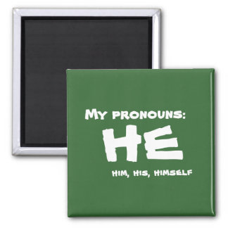Imã Meus pronomes ele