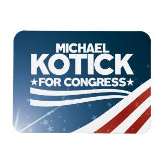Ímã Michael Kotick para o congresso