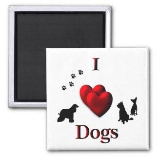 Imã Mim cães do coração