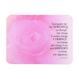 Ímã Mistura do rosa do rosa da oração da serenidade