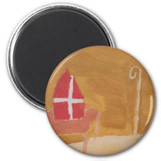Imã Mitra da aguarela de Sinterklaas do Dutch do dia