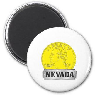 Imã Moeda de ouro de Nevada