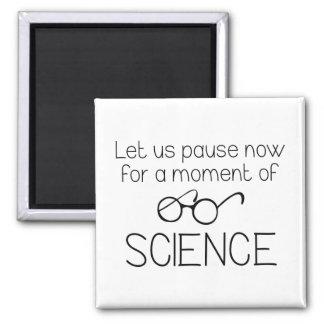 Imã Momento da ciência