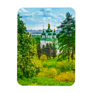 Ímã Monastério de Vydubitsky. Kiev, Ucrânia