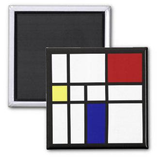 Imã Mondrian inspirou o design