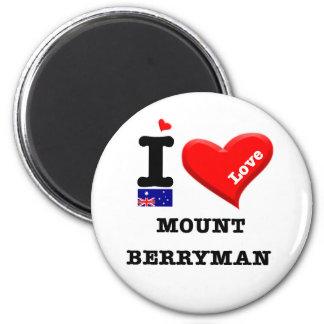 Imã MONTAGEM BERRYMAN - Eu amo