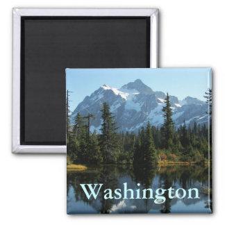 Imã Montagem Shuksan, foto de Washington