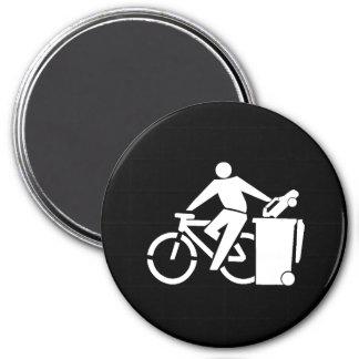 Imã Monte uma bicicleta não um carro
