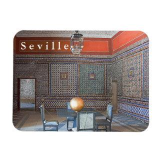 """Ímã Mosaico da """"casa de Pilate"""" em Sevilha"""