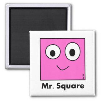 Ímã Mr. Square By PA Ímã Quadrado