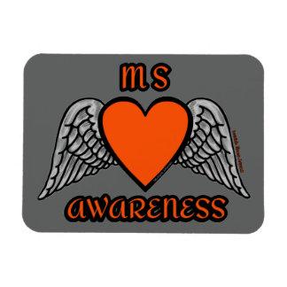 Ímã MS do coração/asas…