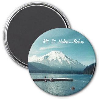 Imã Mt. St Helens--Antes de redondo
