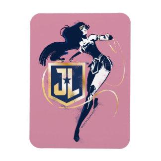 Ímã Mulher maravilha da liga de justiça | & de ícone