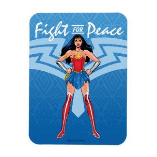 Ímã Mulher maravilha - luta para a paz