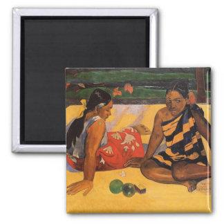 Imã Mulheres de Gauguin Polinésia francesa Tahiti
