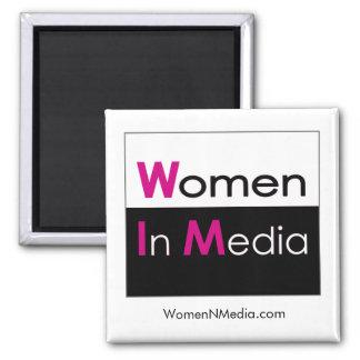 Imã Mulheres no ímã dos meios