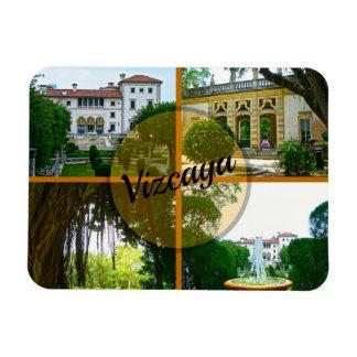 Ímã Museu de Vizcaya e jardim botânico Miami Florida
