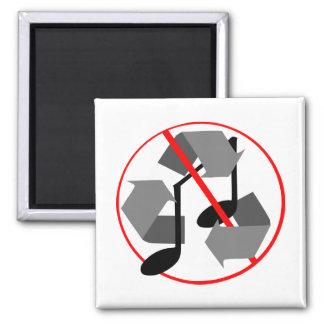Imã Música do reciclado de Overplayed