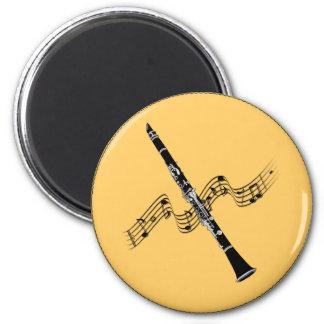 Imã MÚSICA: Música do clarinete