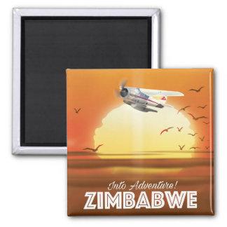 Imã Na aventura! Poster de viagens de Zimbabwe