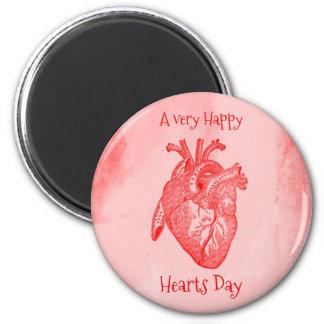 Imã Namorados felizes do dia dos corações