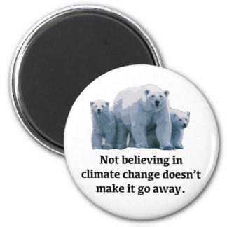 Imã Não acreditando nas alterações climáticas
