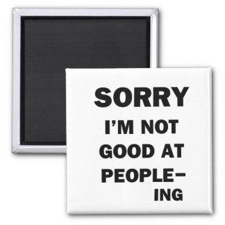 Imã Nao bom em pessoas - Ing