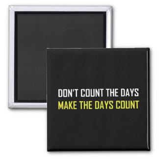 Imã Não conte as citações dos dias