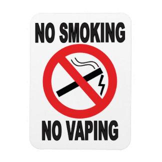 Ímã Não fumadores nenhum sinal de aviso de Vaping