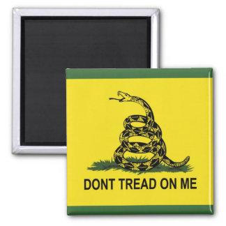 Imã Não pise em mim a bandeira de Gadsden