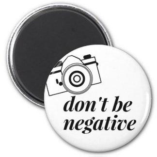 Imã Não seja camisa negativa da fotografia
