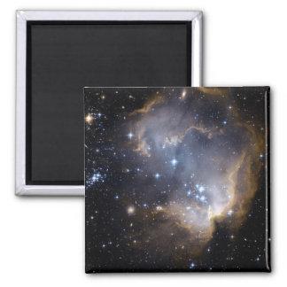 Imã NASA brilhante das estrelas de NGC 602