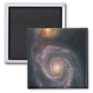 Imã NASA da galáxia espiral do redemoinho M51
