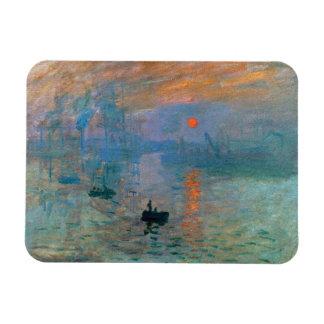 Ímã Nascer do sol da impressão por Claude Monet