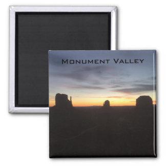 Imã Nascer do sol no vale do monumento