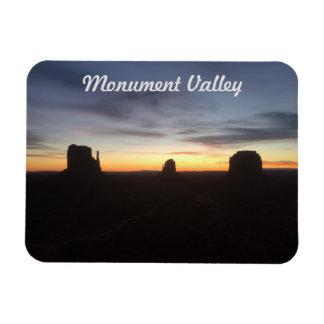 Ímã Nascer do sol no vale do monumento