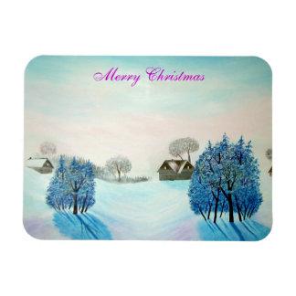 Ímã Natal suíço do azul do opus