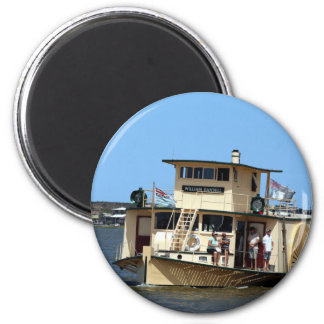 Imã Navio a vapor de pá, Goolwa, Austrália
