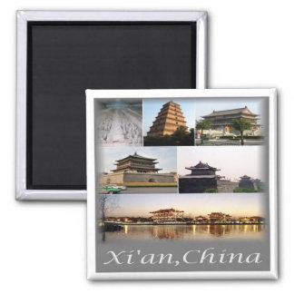 Imã NC * CHINA - Xian China & exército do Terracotta