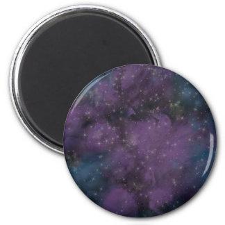 Imã Nebulosa roxa da galáxia