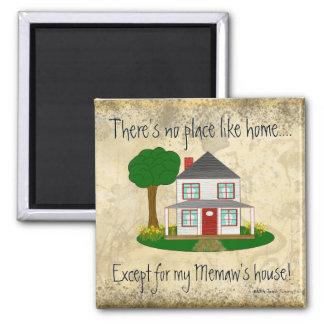 Imã Nenhum lugar gosta em casa exceto o ímã da casa do