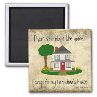 Imã Nenhum lugar gosta em casa exceto o mag da casa da