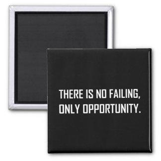 Imã Nenhuma divisa da oportunidade do Failing somente