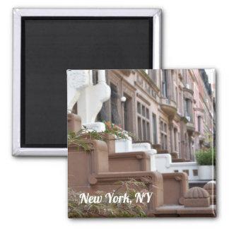 Imã New York, foto superior dos Brownstones do lado