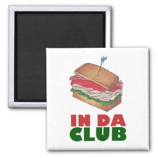 Imã No comensal engraçado de Foodie do sanduíche de
