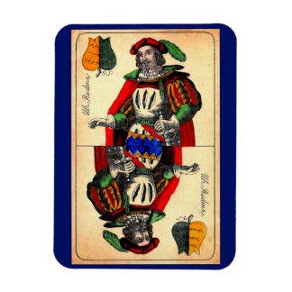 Ímã No. do século XIX 1 do cartão de tarot