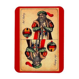 Ímã No. do século XIX 2 do cartão de tarot