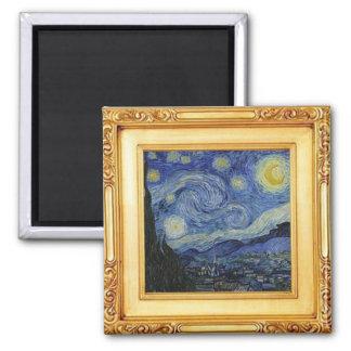 Imã Noite estrelado por Vincent van Gogh - ímã